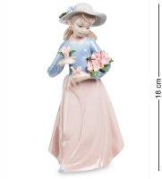 Jp-29/28 статуэтка девушка с цветами (pavone)