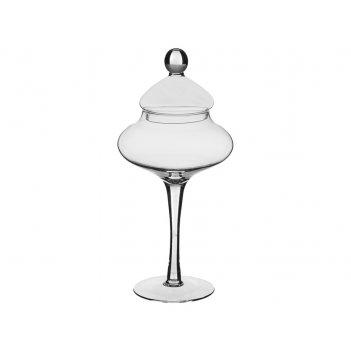 Декоративная чаша с крышкой vivian высота=46 см.