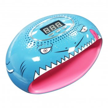 Лампа для гель-лака jessnail star 3, 54 вт, led, акула