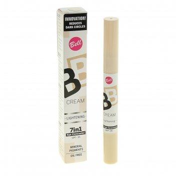 Консилер bell bb cream lightening 7 in 1 eye concealer, тон 10