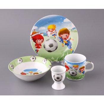 Наборы посуды на 1 персону 4пр.:миска,тарелка,круж...код