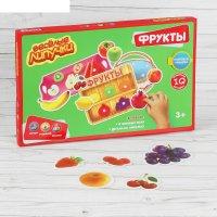 Игра-конструктор на липучках фруктовая фантазия