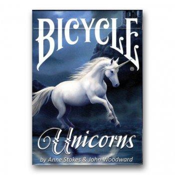 Карты bicycle anne stokes unicorn