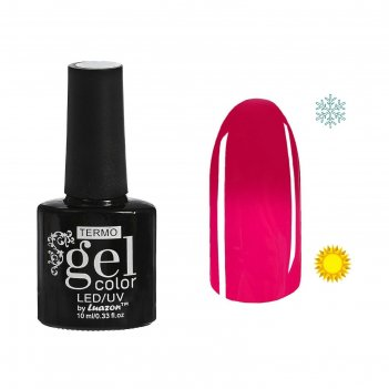 Гель-лак для ногтей термо, 10мл, led/uv, цвет 060а1 розовый