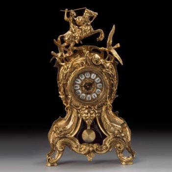 Часы каминные всадник с маятником