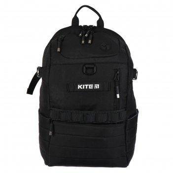 Рюкзак школьный kite 876, 45 х 30 х 16, сity, тёмно-синий