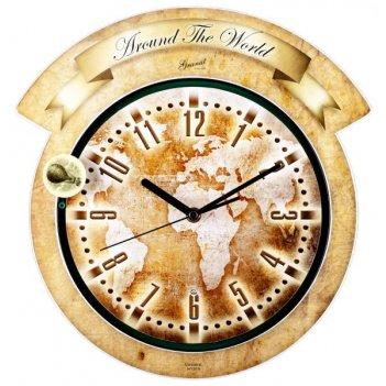 Настенные часы гранат серия gemini g 017032 granat