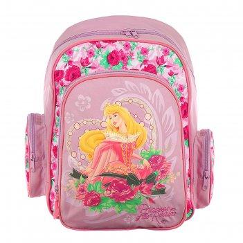 Рюкзак школьный disney «принцессы», 38 х 36 х 18 см, эргономичная спинка,