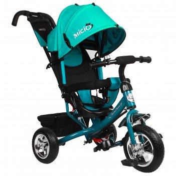 Велосипед трёхколёсный micio classic 2019, колёса eva 10/8, цвет бирюзовый