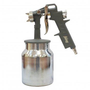 Краскораспылитель fubag basic s750/1.5 hp, 178л/мин, 3.5 бар, нижний бачок