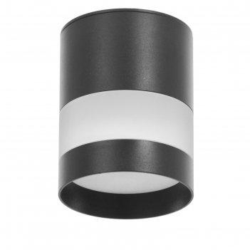 Светильник 86615/1 led 7вт 4000к черный 8х8х10 см