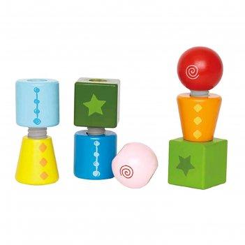 Игрушка развивающая «закручивающиеся кубики»