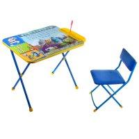 Набор детской мебели disney 2. университет монстров складной: стол, стул м