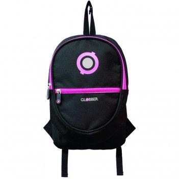 524-132 рюкзак globber для самокатов junior black/neon pink