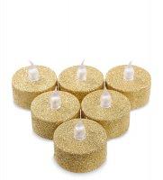 Led-21 набор светодиодных чайных свечей (6шт.)