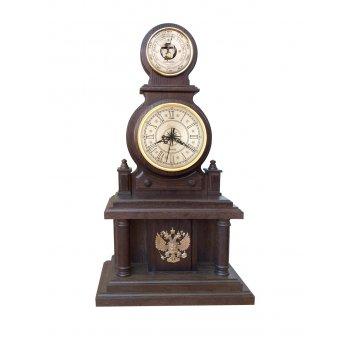 Часы настольные бн1 герб  р.ф
