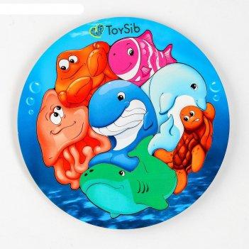 Пазл «подводный мир» (бизиборды)