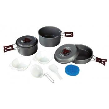 Набор посуды из анодированного алюминия на 2-3 персоны