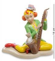 Cms-23/63 статуэтка клоун-саксофонист (pavone)