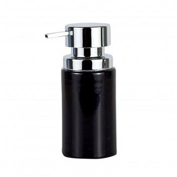 Дозатор кухонный для жидкого мыла bora, цвет чёрный