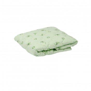 Одеяло лёгкое, размер 140 x 205 см, сисиликонизированное волокно