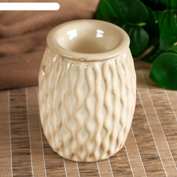 Аромалампа керамика суккулент микс 11х7,8х7,8 см