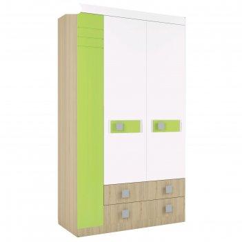 Шкаф 3-х створчатый «стиль 25», 400 x 416 x 2040 мм, цвет туя светлая / ла