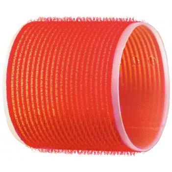 Бигуди-липучки красные d 70 мм (6шт)