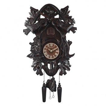 Настенные часы с кукушкой columbus охота cq-017