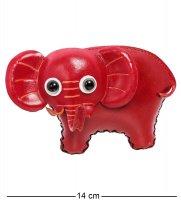 Bl-53/4 кошелёк кожаный слон