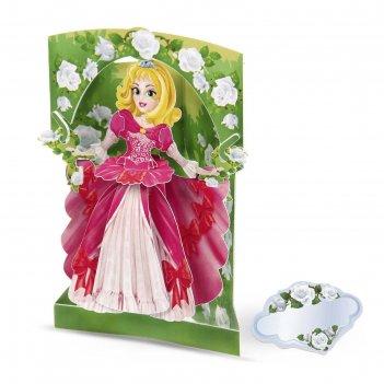 Набор для творчества открытка-конструктор принцесса