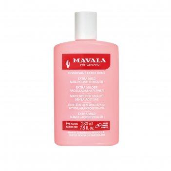 Жидкость для снятия лака профессиональная mavala nail polish remover pink,