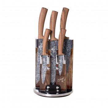 Набор ножей на подставке, 6 предметов