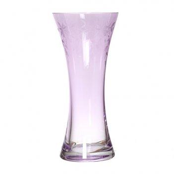 Ваза флорал фиолетовая высота= 30 см.