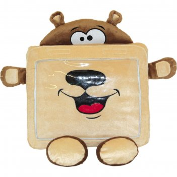 Чехол-игрушка мишка для планшета, 34 см