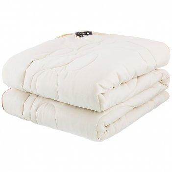 Одеяло овечья шерсть 142*205 см микрофибра,50% овечья шерсть плотность 300