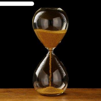 Часы песочные виола 8х20 см, золотой песок