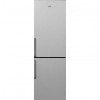 Холодильник beko rcnk 270k20s, 270 л, класс а+, full no frost, серебристый