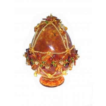 Яйца янтарные
