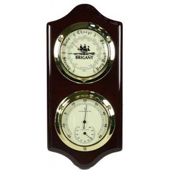 Барометр brigant: термометр, барометр 15*33см