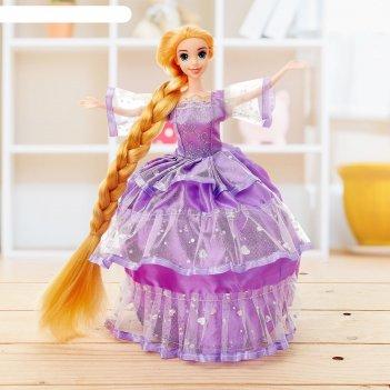 Кукла сказочная злата в платье, микс