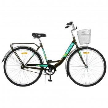 Велосипед 28 stels navigator-345, z010, цвет тёмно-оливковый, размер 20