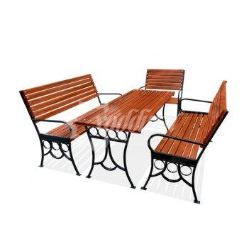 Комплект садовой мебели «олимп» 1,5 м