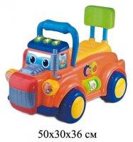 Каталка веселый грузовик, свет, звук