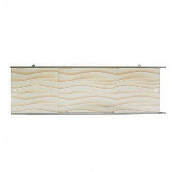 Экран под ванну премиум а, 168 см, цвет песочный