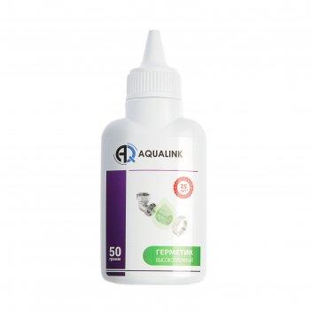 Анаэробный клей-герметик aqualink высокопрочный, 50 г