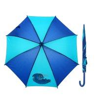 Зонт детский однотонный, с аппликацией, r=42см