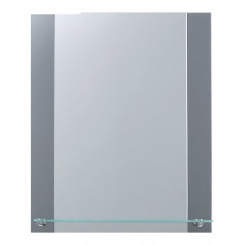Зеркало, настенное, с полкой, 37x45 см