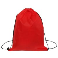 Мешок для обуви 66592 клетка п/э 210 , 35*05*43см, шнурок, цвет красный