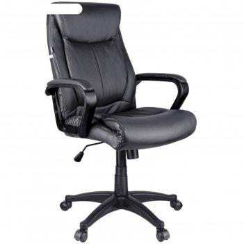 Кресло руководителя helmi hl-e02 income, экокожа черная